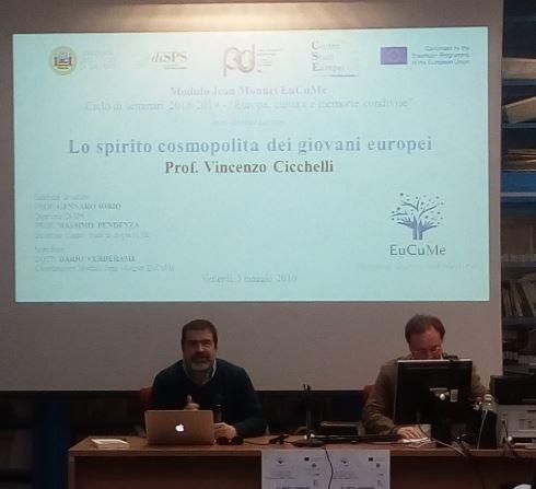 Jean Monnet Lecture _ Prof. Vincenzo Cicchelli
